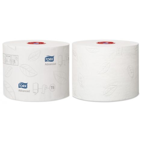 Tork Mid-size Toiletpapier 2-laags Wit T6 Advanced