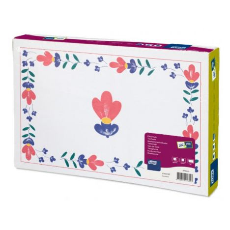 Tork placemat 27x42cm Country 5x500