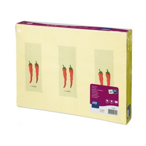 Tork placemat 31x42cm Hot Chili 5x500